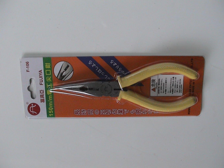 (HT302660)富具亞 6'尖口鉗 (F106)