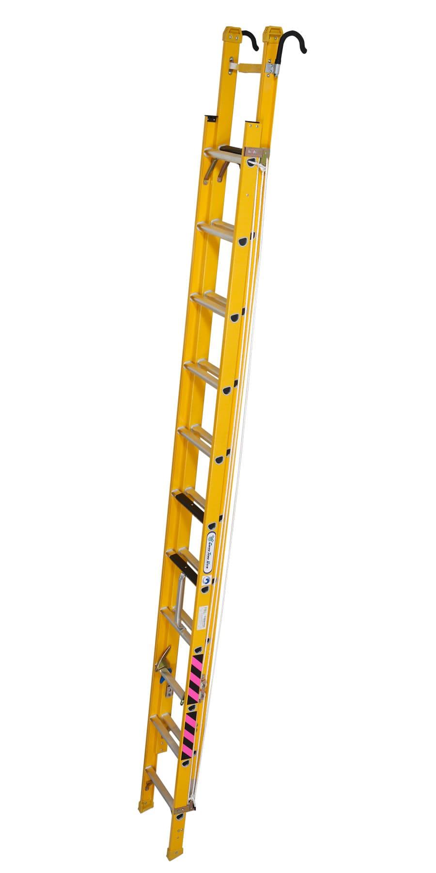 (HS201051)玻璃纖維伸縮梯5.1M、(HS201064)玻璃纖維伸縮梯6.4M