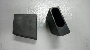 (HS301120)扁圓管單梯上腳套