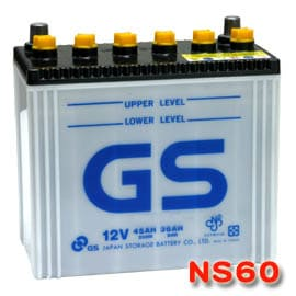 電瓶NS60